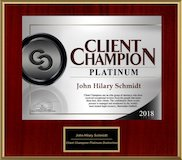 Client Distinction Award 2018 logo
