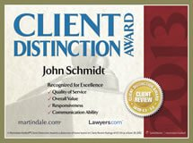 client-distinction-award-2013-john-schmidt-law.jpg