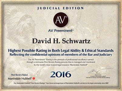 David Schwartz certificate