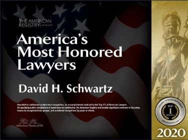 America's Most Honored Lawyers Badge