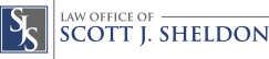 the law office of Scott J. Sheldon logo