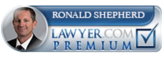 Ronald Shepherd Lawyer.com Premium Badge