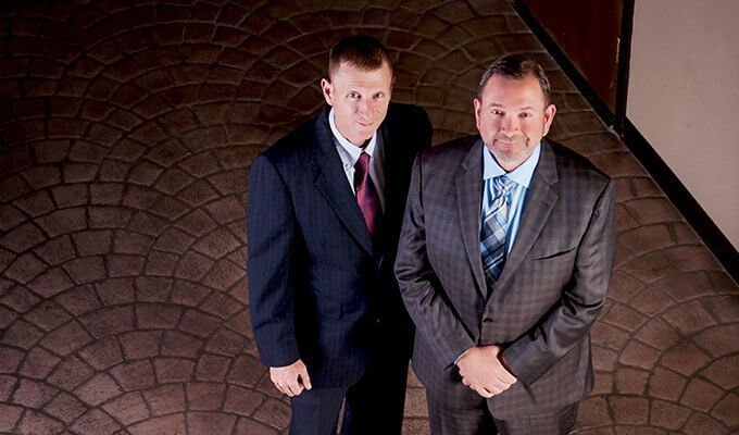 Attorneys Daniel Walter and Seven Springer