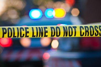 violent crimes - police tape