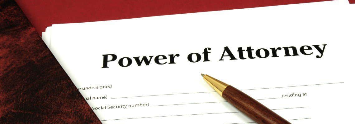 Power of Attorney papers