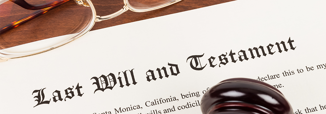last will and testiment documents