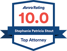 Avvo Rating, 10.0, top attorney badge