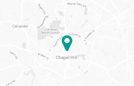 Chapel Hill, North Carolina Map