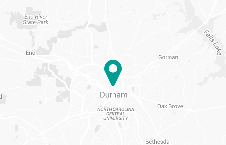 Durham North Carolina Map