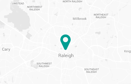 Raleigh North Carolina Map