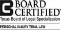 Texas Board Certified of Legal Specialization Badge