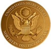 United States District Court Badge