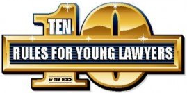 10 Rules for Young Lawyers Logo