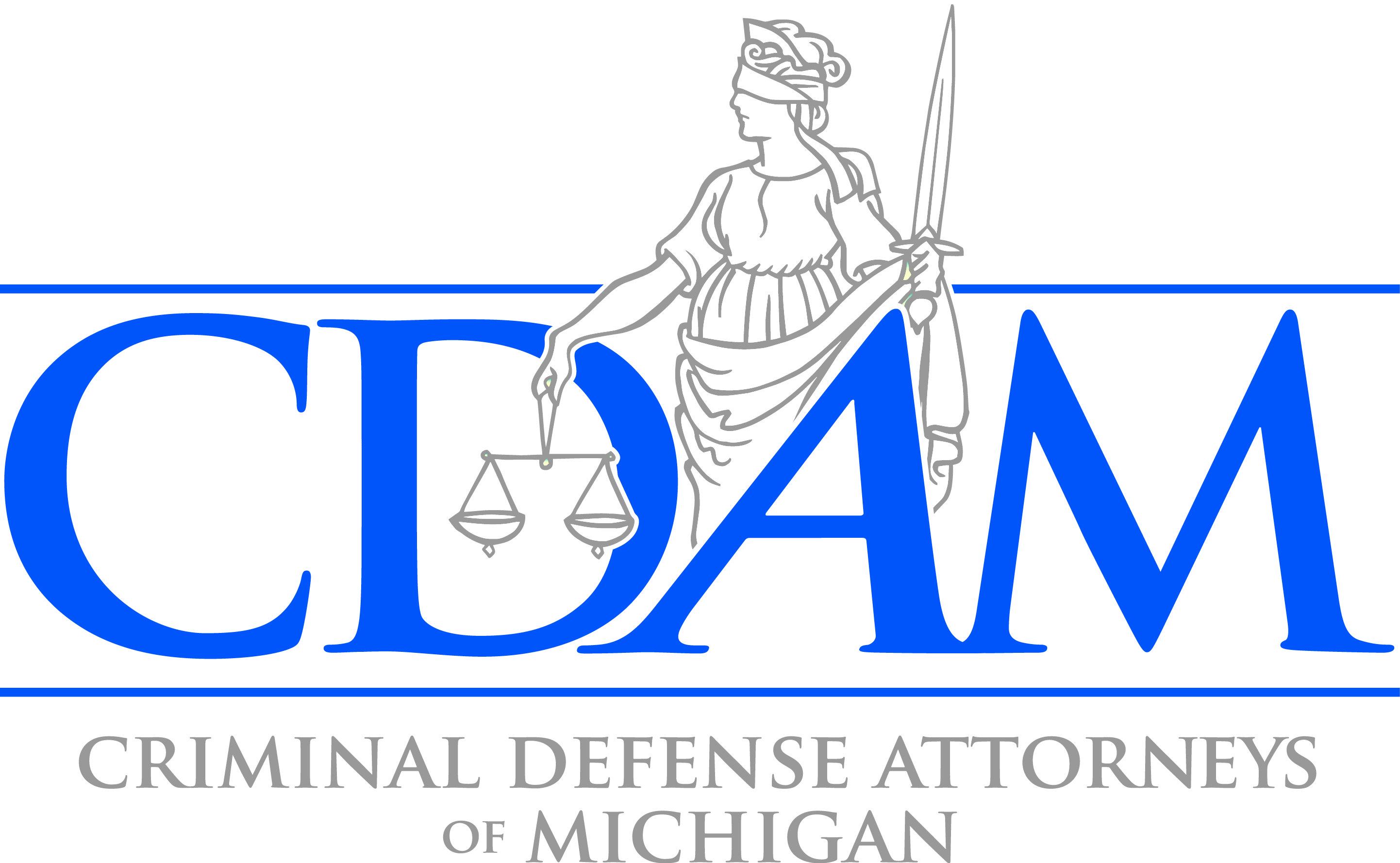 Criminal Defense Attorneys of Michigan Badge