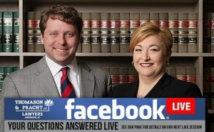 Lawyers Nancy Jo Thomason and Christopher Pracht