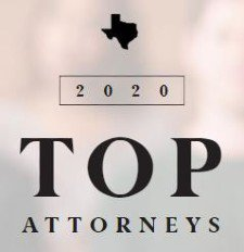 Texas 2020 Top Lawyer Badge