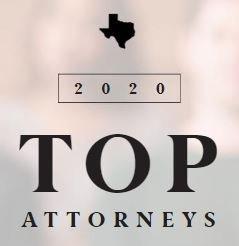 Texas 2020 Top Lawyer Badge