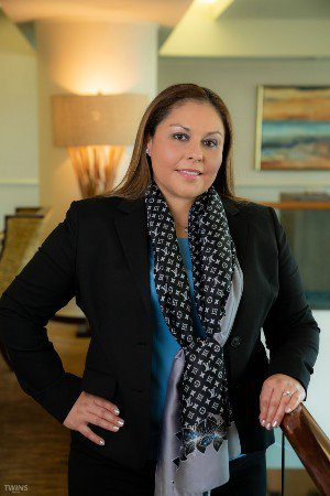 Attorney Dee Ann Torres in Law Building