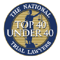 Top 40 Under 40 The National Trial Lawyers Badge