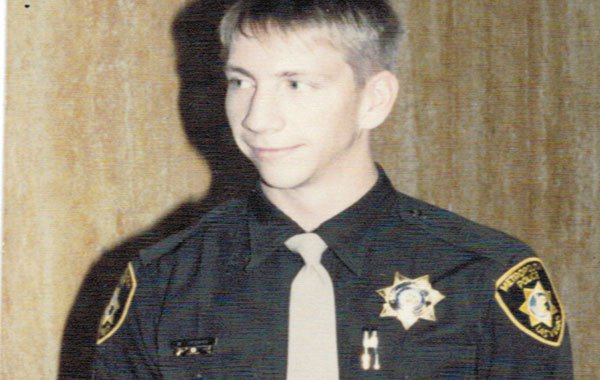 Urbano as a Vegas Police Officer