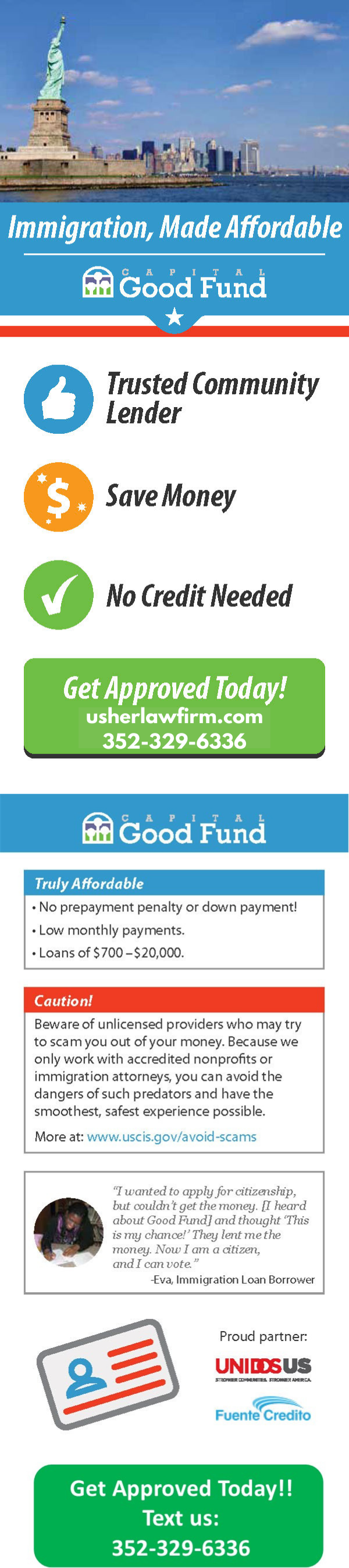 Financing Options infographic