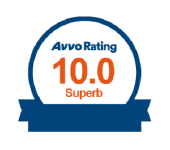 Avvo Badge of 10.0, superb