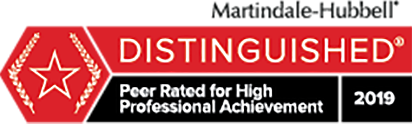 Peer rated for high professional achievement