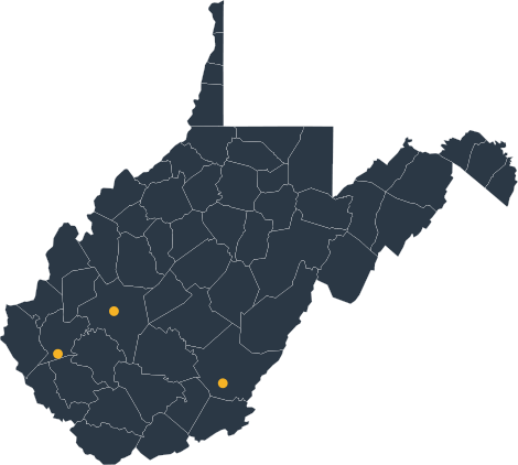 West Virginia Service Areas