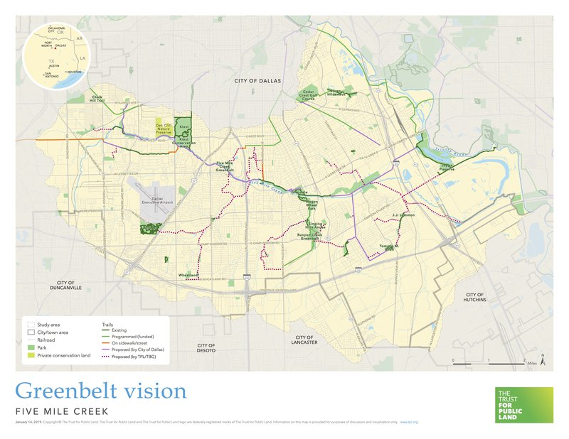 Five Mile Creek Vision Plan
