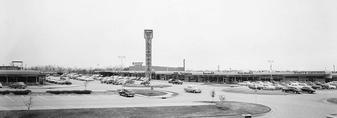 Panorama of airport