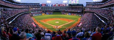 Texas Rangers Baseball stadium