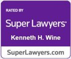 Super Lawyers Kenneth H. Wine Badge
