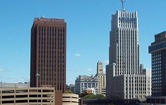 Buildings in Akron, Ohio