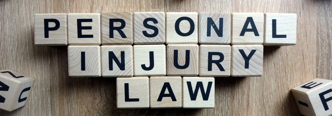 Scrabble block that spell out Personal Injury Law