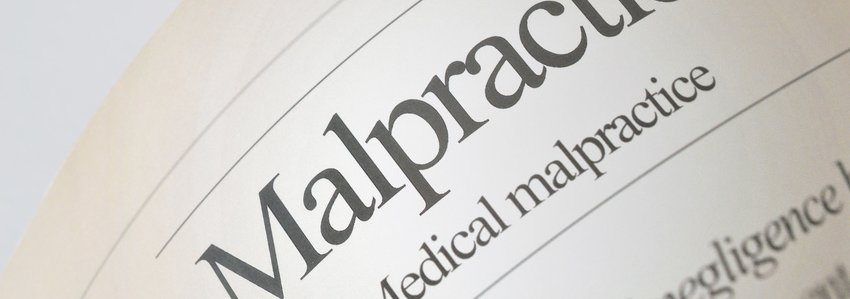 Malpractice page
