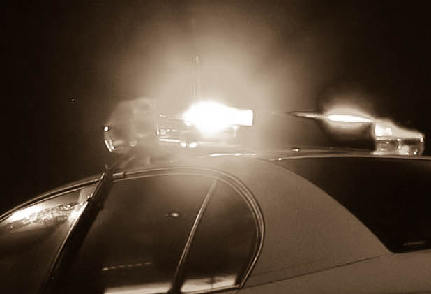 cop car lights